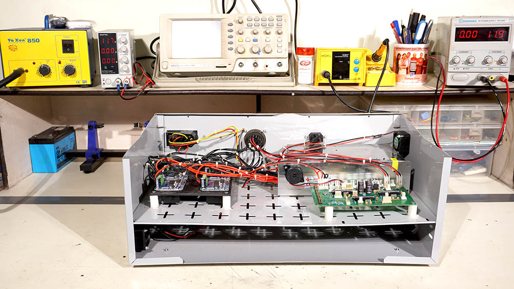 Testing Of Control Panel Of A Robot