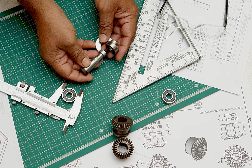 Industrial Drawing and Design for prototyping model