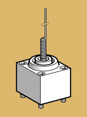 Cat's whisker Limit Switch